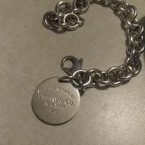 Euc. Auth TIFFANY bracelet 7.5 FIRM PRICE LOW!!